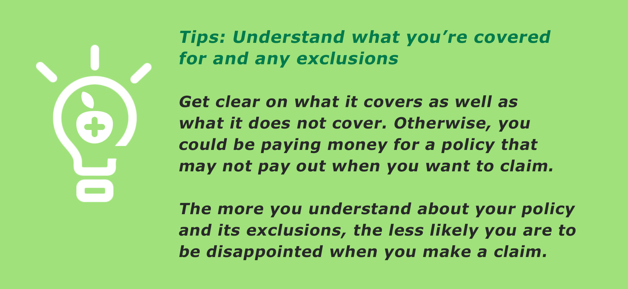 health insurance guide-tip3