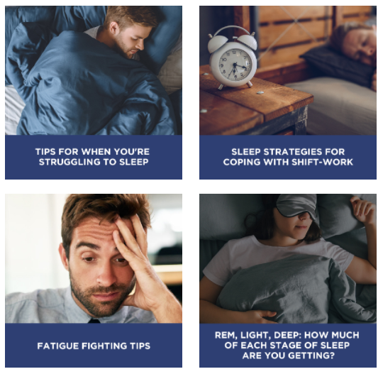 Health Focus - Get adequate sleep