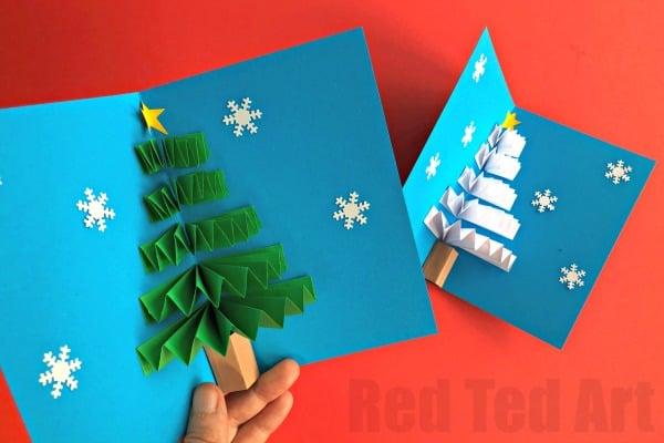 Pop-up-Christmas-card
